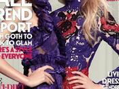 Taylor Hill Elsa Hosk posan para portada Fashion Magazine