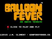 Prueba Ballon Fever, pequeño homenaje Satoru Iwata HTML5