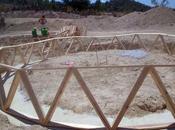 construcción vivienda geodésica autosuficiente Jumilla