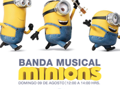 Banda Minions pondrá música color este Niño Mall Marina Arauco