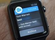 Outlook llega Apple Watch