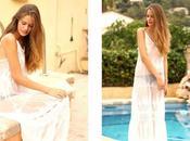 ¡Buenas noches!Pues otro vestido blanco Shein. Cr...