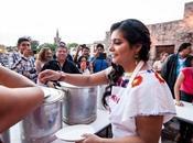 Gran éxito venta tamales Carmen Mirdanda beneficio