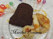 Leche frita, bundt cake chocolate cobertura helado turrón.