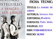 Reseña: sangre libros, Santiago Posteguillo