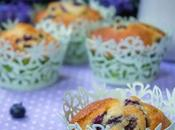 Muffins arandanos frescos blueberry muffins