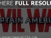Descripción material Captain America: Civil mostrado Expo