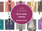 Colores Otoño Invierno 2015/16 Personal Shopper