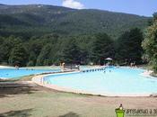 piscina montaña para disfrutar familia