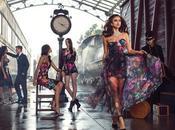 Irina Shayk pone glamurosa para campaña otoño BEBE