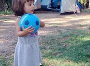 Vacaciones naturaleza: camping familia