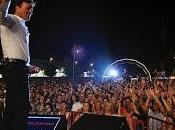 Reportaje sobre fiestas Bragança, especial Tony Carreira espectáculo pirotécnico