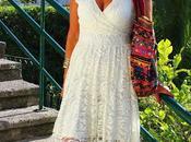 looks vestido blanco encaje
