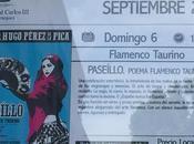Paseíllo. poema flamenco taurino teatro real carlos aranjuez: septiembre 19:00 horas
