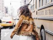 Fall trends; chaqueta flecos otoño.-