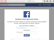 Nuevos sitios falsos videos roban credenciales Facebook