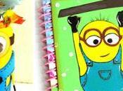 Cuadernos decorados Minions para regreso clases