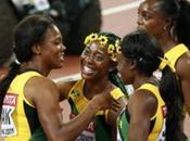 Mundial atletismo Pekín 2015: Fraser-Pryce remata Jamaica récord nacional.