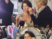 """""""resident evil:the final chapter"""": milla jovovich comparte otra nueva imagen prueba maquillaje junto paul anderson"""