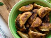 Empanadillas ternera salsa chimichurri orégano