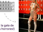 gala MTV: peores looks (porque mejores...)