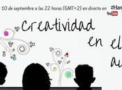 Creatividad aula. Jueves septiembre horas directo (GMT+2) #HangoutON