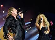 Shakira deslumbra escenario Maná