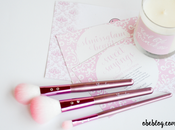 SLMISSGLAM BEAUTY Pink Brushes sweet candle
