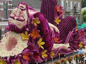 Corso Zundert' desfile honor Gogh carrozas gigantes adornadas flores