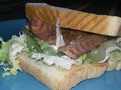 Sándwich caballa.