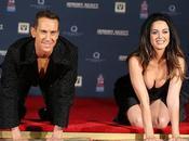 Katy Perry deja huellas Hollywood