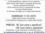 Jornadas micolögicas 2015