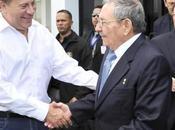 Raúl castro reúne presidente panameño (+video)
