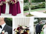 Marsala gold wedding