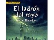 Percy Jackson. ladrón rayo, Rick Riordan