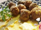 Albóndigas salsa cebolla (tradicional)