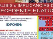 Conferencia Magistral: Análisis implicancias Precedente Huatuco