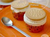 Cupcakes galleta maría natillas caramelo biscuit caramel custard cupcakes