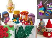 proyectos Navidad crochet fotos vídeos