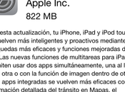 Apple pone disponible oficialmente actualización