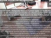 Jornada Formativa: Prevención Lesiones Físico-Deportivas.