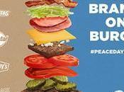 #PeaceDayBurger BurgerKing, McDonald's pero hamburgueserías