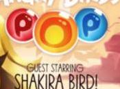 Shakira logra convertirse Angry Bird