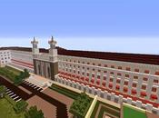 Replica Minecraft Hotel Abba Burgos, España.