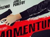 "Nuevo póster para thriller accion ""momentum"", olga kurylenko james purefoy"