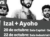 Izal, Santiago Granada gratis para clientes Vodafone fechas gira)