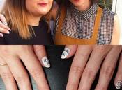 Uñas mano alzada pintura acrílica Laura Crazy Nails