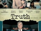 """Primer póster trailer v.o. """"truth"""", drama """"cate blanchett"""" """"robert redford"""""""