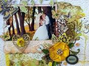 "Scrapbooking Layout: ""Amour"""