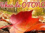 Fichas actividades imprimibles otoño para niños: colorear, decorar, líneas…
